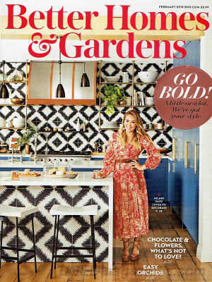 Better Homes and Gardens February 2018