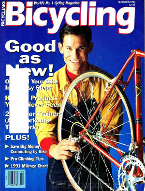 Bicycling December 1990