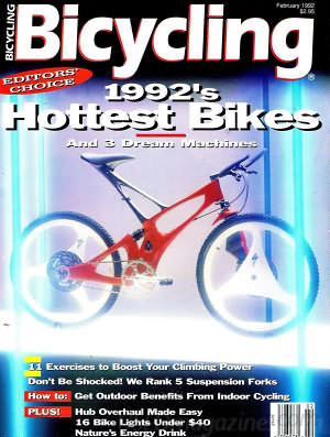 Bicycling February 1992