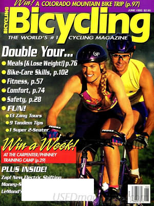 Bicycling June 1993