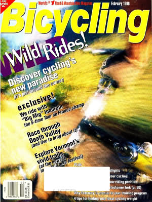 Bicycling February 1996