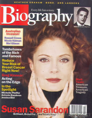 Biography October 2002