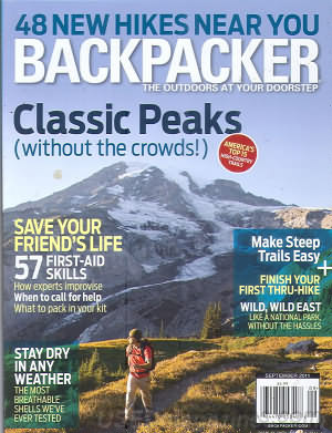 Backpacker September 2011