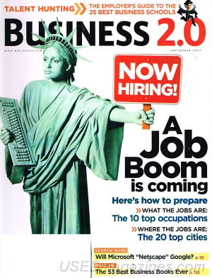 Business 2.0 September 2003