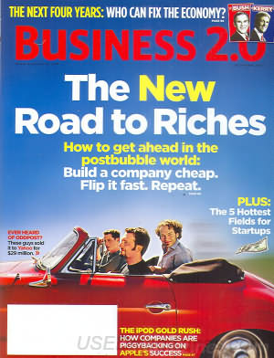 Business 2.0 October 2004
