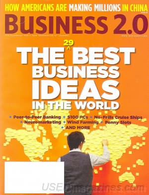 Business 2.0 August 2005