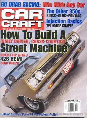 Car Craft February 2000
