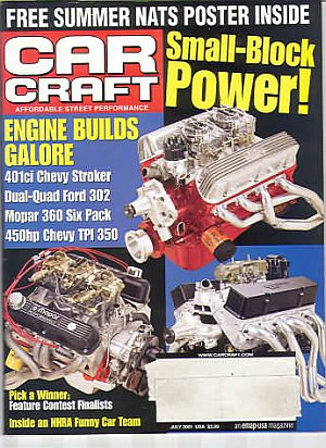 Car Craft July 2001
