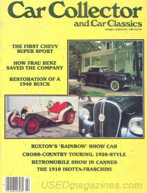 Car Collector and Car Classics February 1981