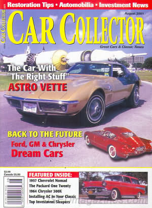 Car Collector and Car Classics August 2001