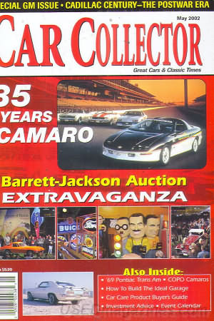 Car Collector and Car Classics May 2002
