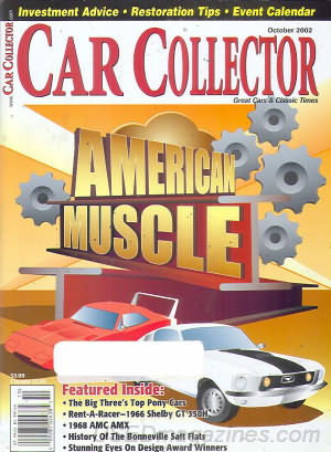Car Collector and Car Classics October 2002