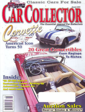 Car Collector and Car Classics August 2003