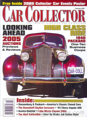 Car Collector and Car Classics February 2005