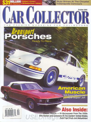 Car Collector and Car Classics October 2005