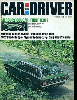 Car and Driver October 1966
