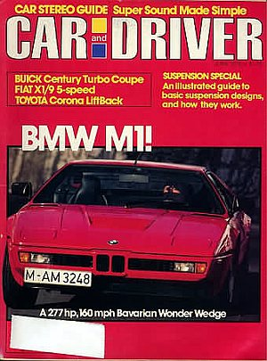 Car and Driver June 1979