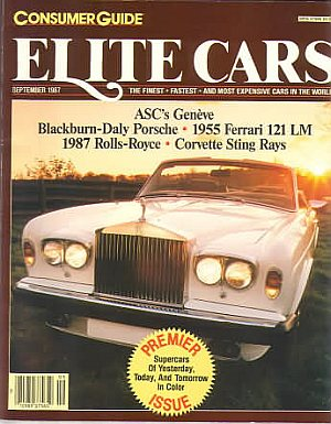 Consumer Guide Elite Cars 1987