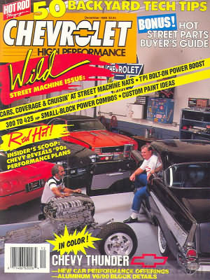 Chevy High Performance December 1989