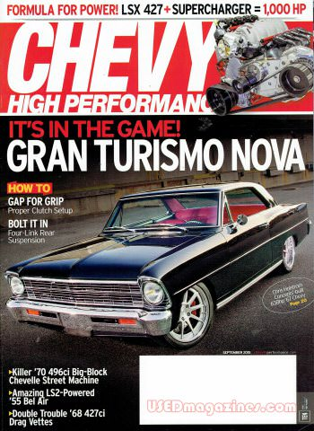 Chevy High Performance September 2015