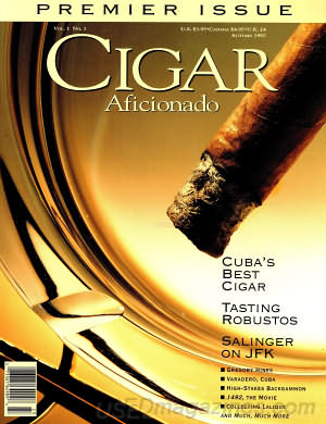 Cigar Aficionado Autumn 1992