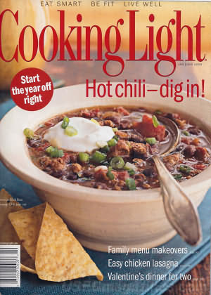 Cooking Light January 2006