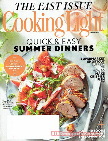 Cooking Light August 2017