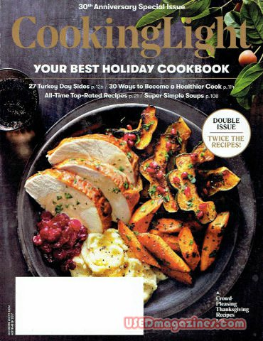 Cooking Light November 2017