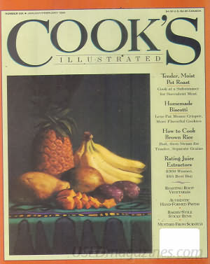 Cook's Illustrated January 1994