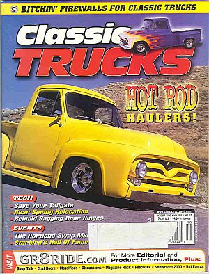 Classic Trucks October 2000