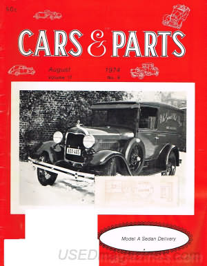 Cars & Parts August 1974