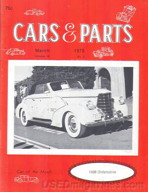 Cars & Parts March 1975