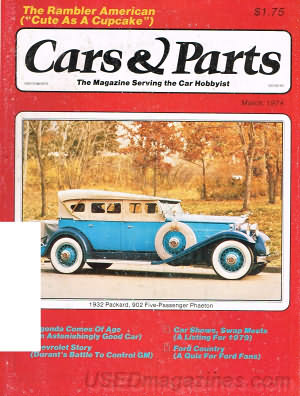 Cars & Parts March 1979
