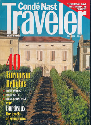 Conde Nast Traveler May 1992