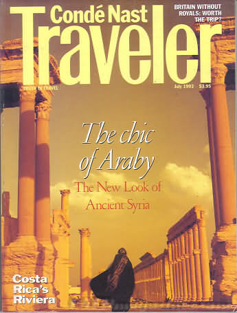 Conde Nast Traveler July 1993