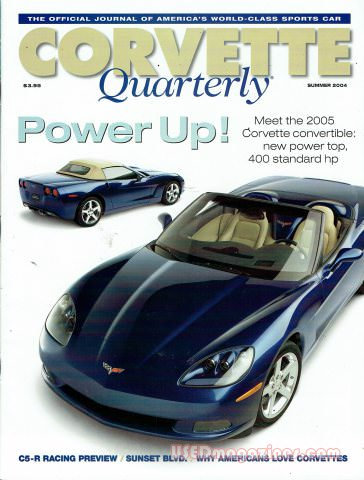 Corvette Quarterly Summer 2004