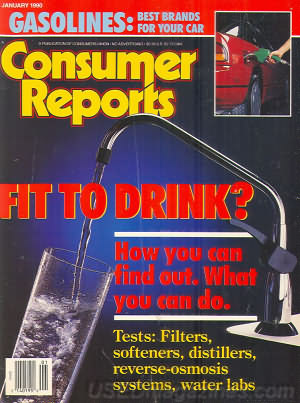 Consumer Reports January 1990