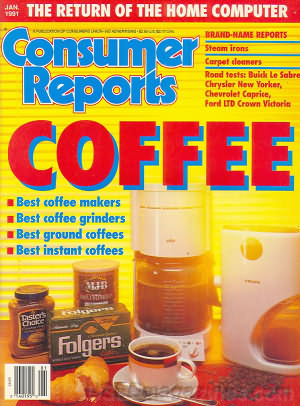 Consumer Reports January 1991