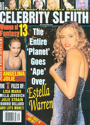 Celebrity Sleuth #20 October 2002