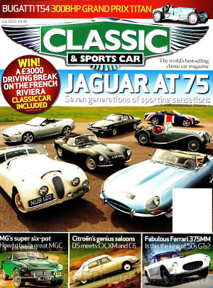 Classic and Sports Car July 2010
