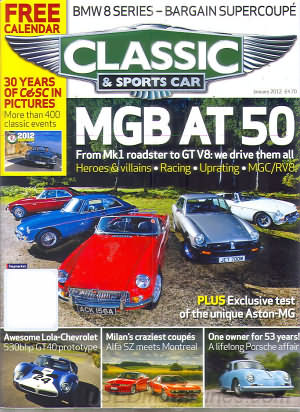 Classic and Sports Car January 2012