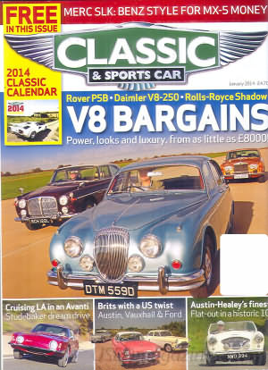 Classic and Sports Car January 2014