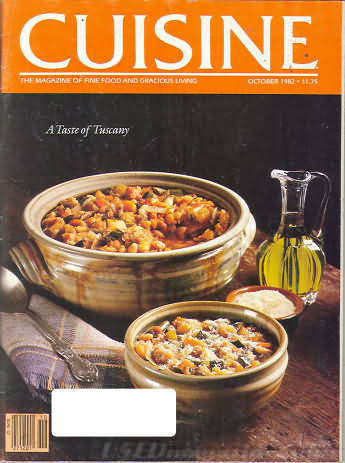 Cuisine October 1982