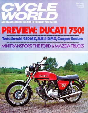Cycle World September 1972