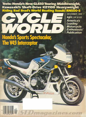 Cycle World December 1982
