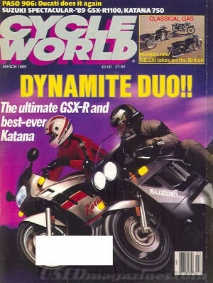 Cycle World March 1989