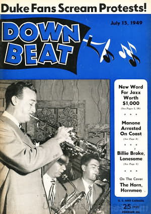 Down Beat July 15, 1949