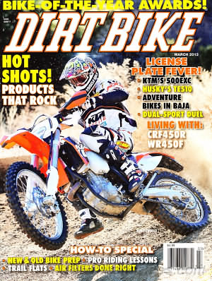 Dirt Bike March 2012