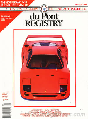 duPont Registry August 1988