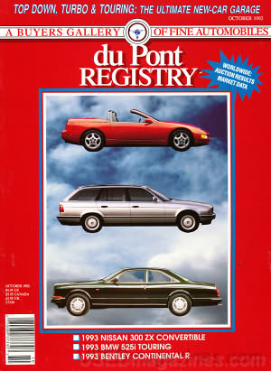 duPont Registry October 1992